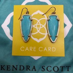 Turquoise Kendra Scott Skylar Earrings